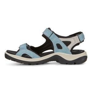 Ecco Metallic Silver Womens Sandals